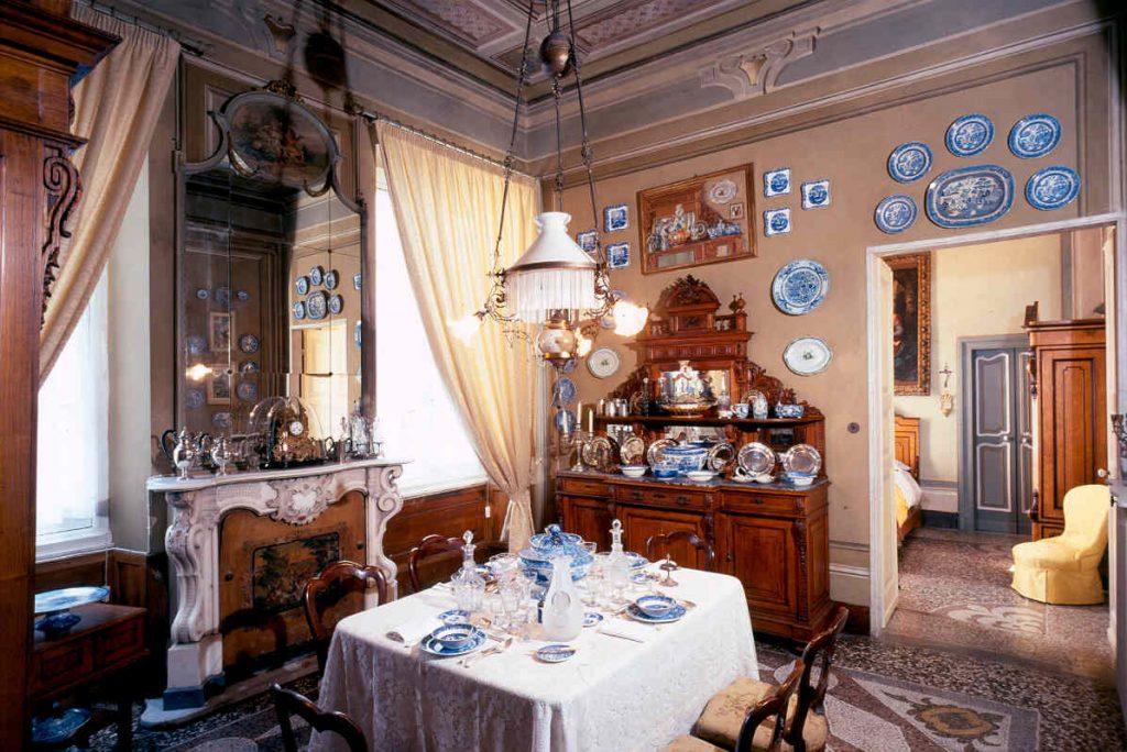 15 sala da pranzo Foto di Luigino Visconti,2004 © FAI - Fondo Ambiente Italiano