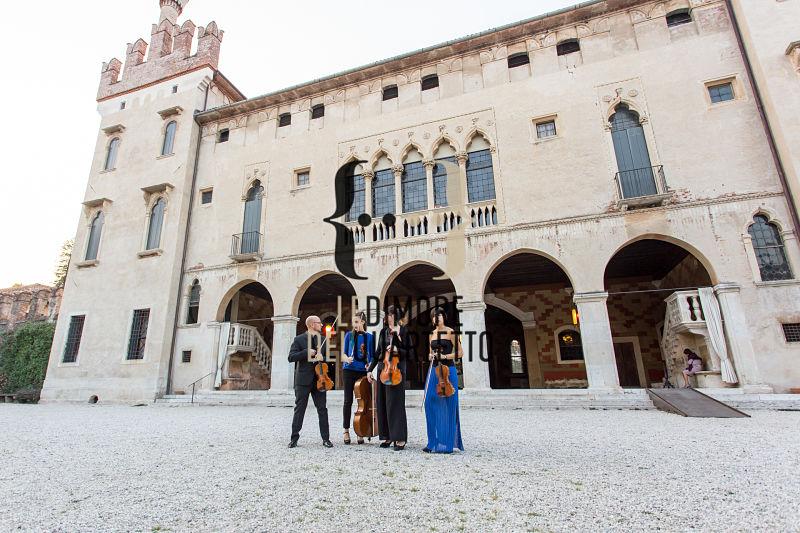 Zart Quartet.Castello di Thiene