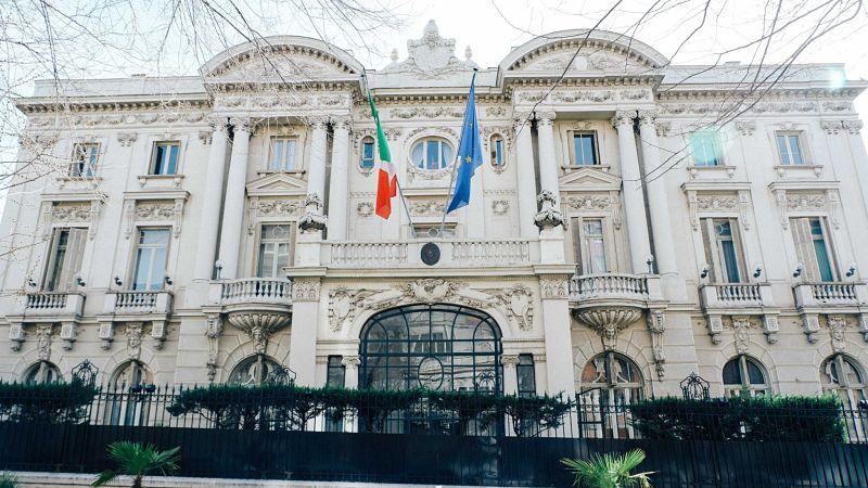 AMBASCIATA D'ITALIA, MADRID