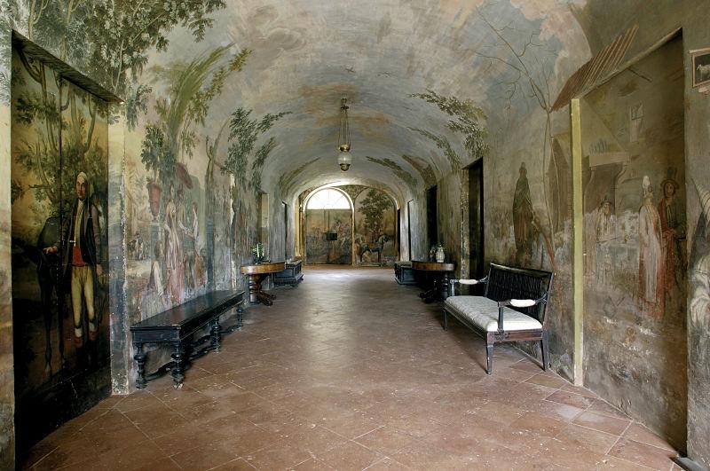 Villa di Geggiano, Chianti, Toskana, Ýtalya; Bianchi Bandinelli ailesine ait ev