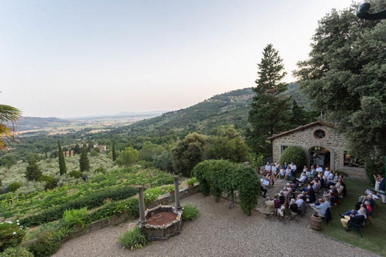 Concerto all'aperto tra le colline toscane