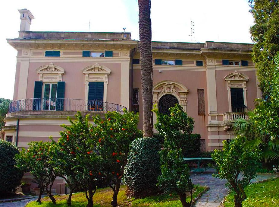 dimore quartetto villa pini bogliasco 1