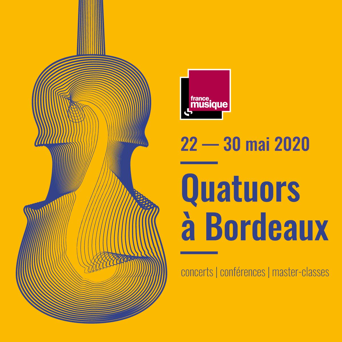 Quatuors a Bordeaux 2020