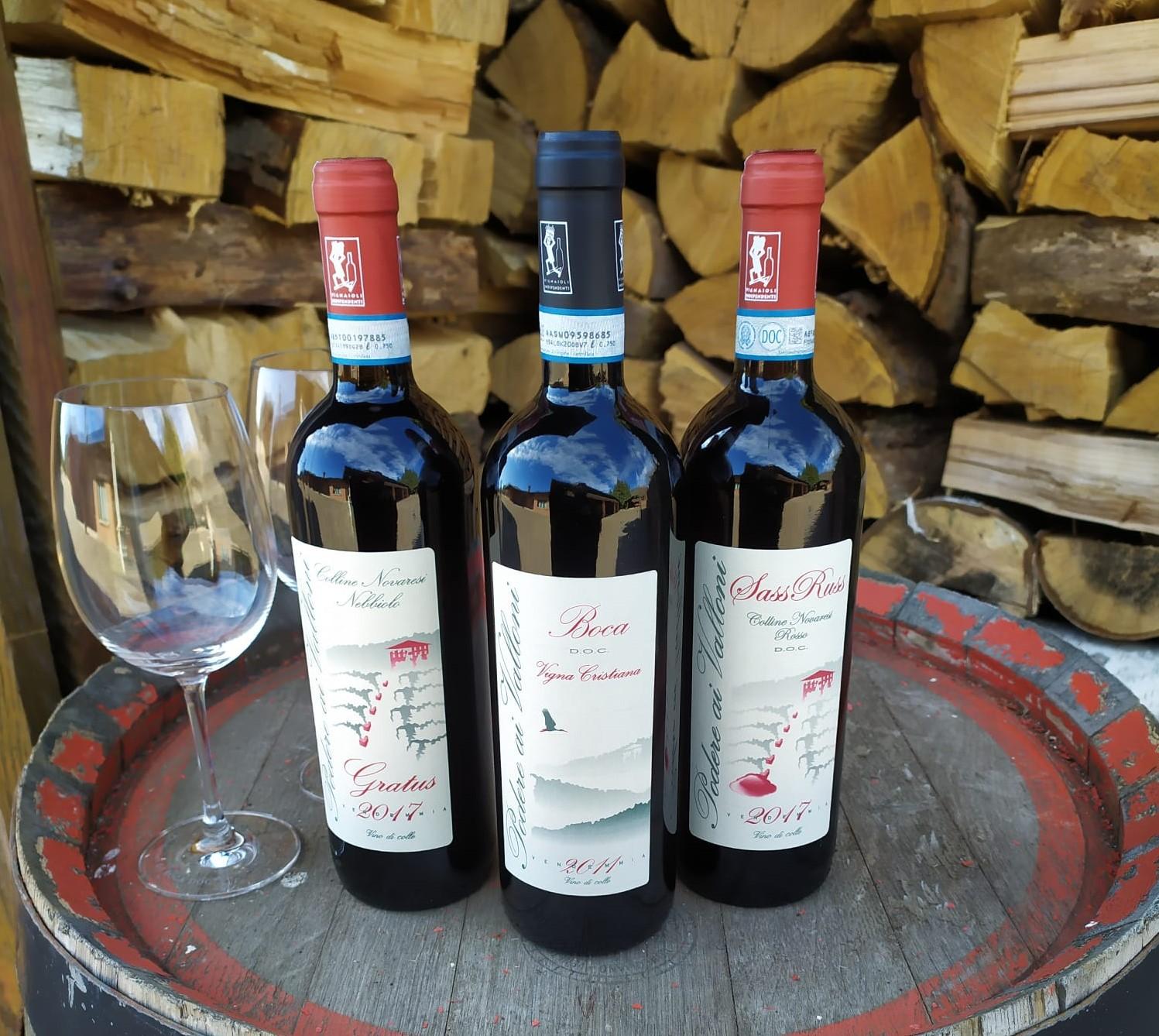 Podere ai Valloni vini dimore quartetto
