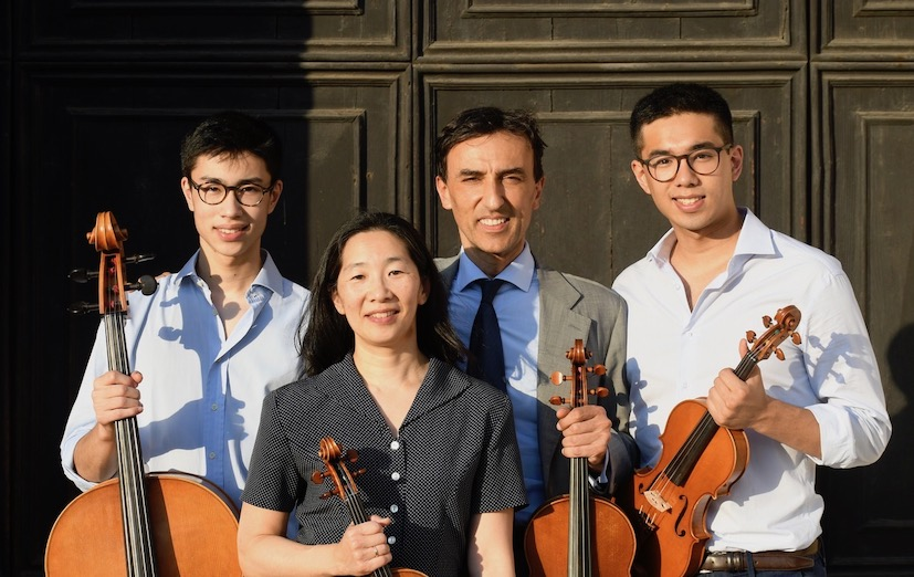 dimore quartetto Quartetto Scimemi 2020