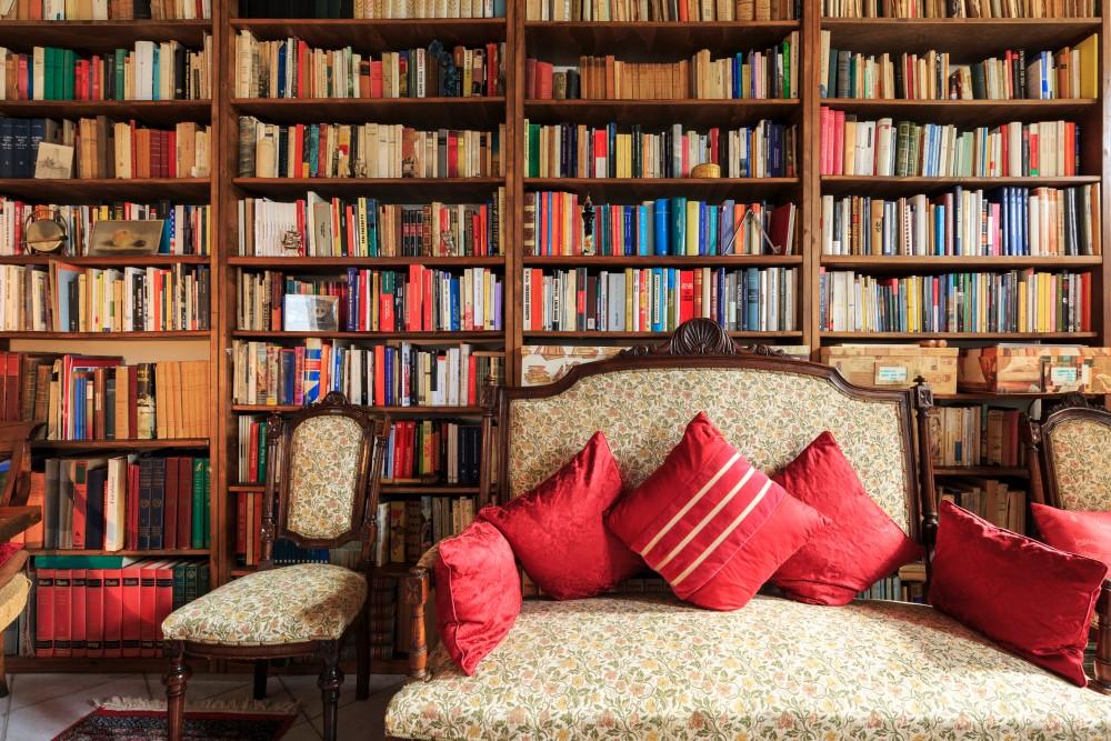 dimore quartetto Antica Casa Balsari biblioteca