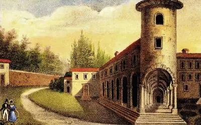 dimore-quartetto-dipinto-castello-di-lurano