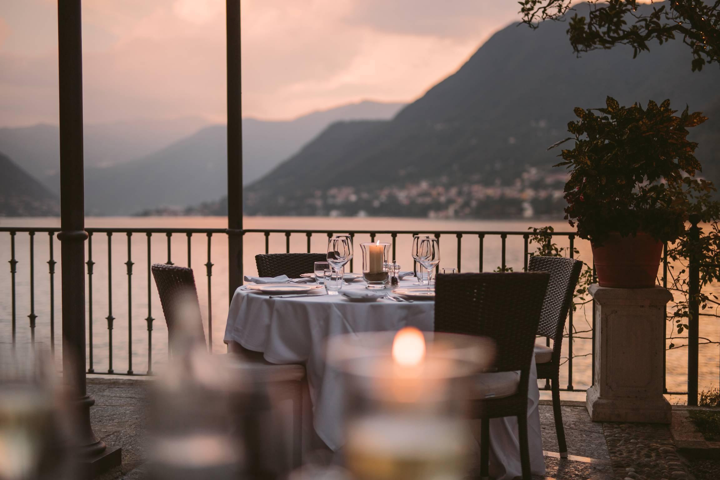 dimore quartetto Villa Flori Raimondi terrazza