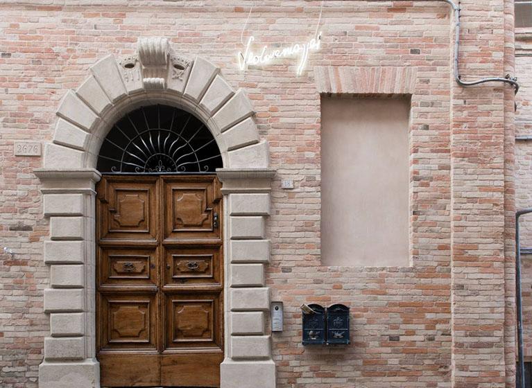 dimore quartetto Palazzo Brancadoro Mostra Vedovamazzei (ph. Francesca Renzi) (4) 1