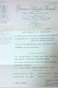 dimore quartetto certificato garanzia viola g99