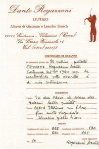 dimore quartetto certificato violino 11